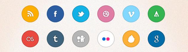 50 Free Social Media Icon Sets 630
