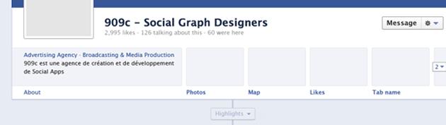 Timeline Facebook Page GUI PSD 630