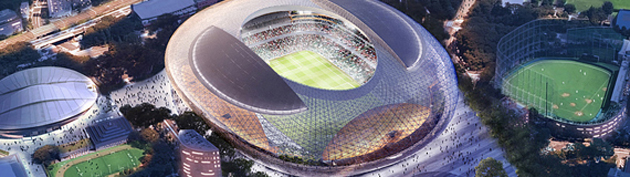 NEW NATIONAL STADIUM JAPAN 1 630