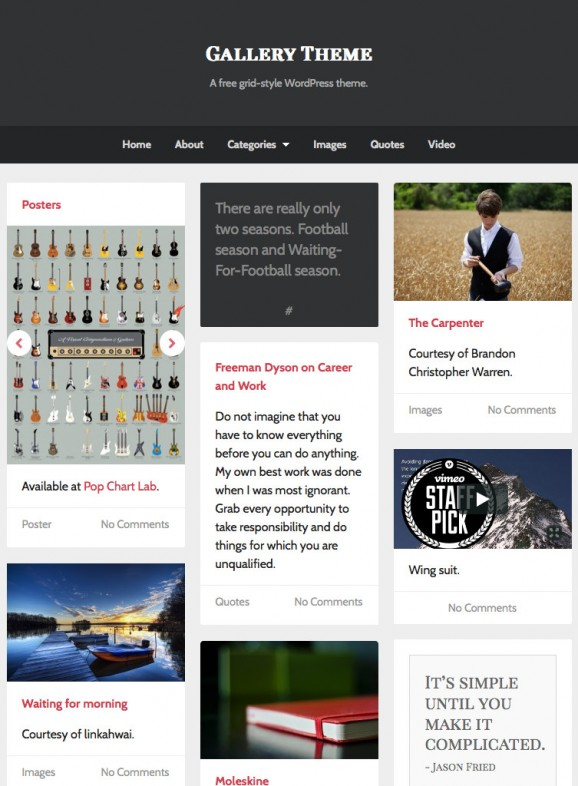 UpThemes Gallery 3