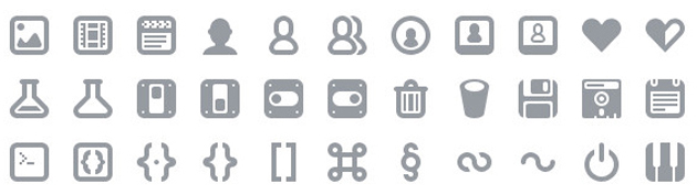 20 Free Simple Icon Fonts 630