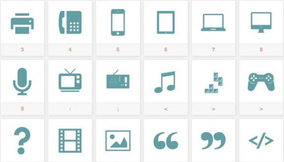 Sosa icon font