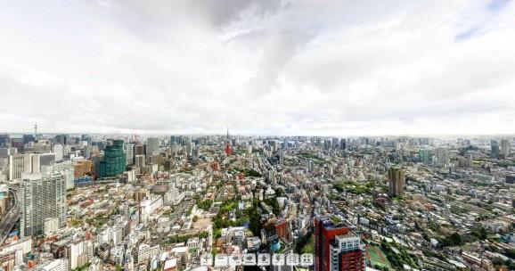 Tokyo Roppongi Gigapixel 2