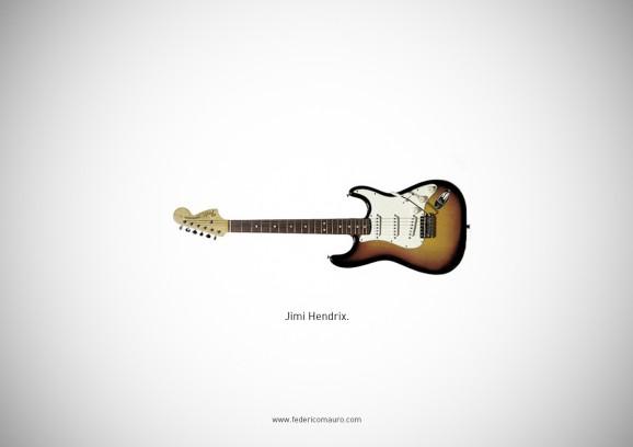 Famous Guitars 3