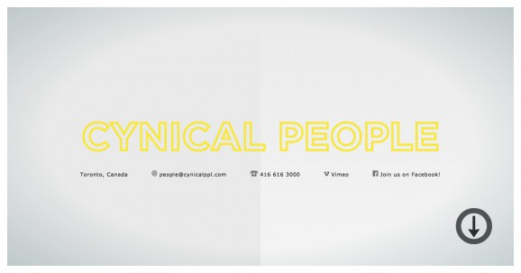 CYNICAL PEOPLE 2013