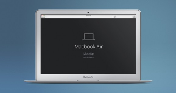 MacBook Air Psd Mockup