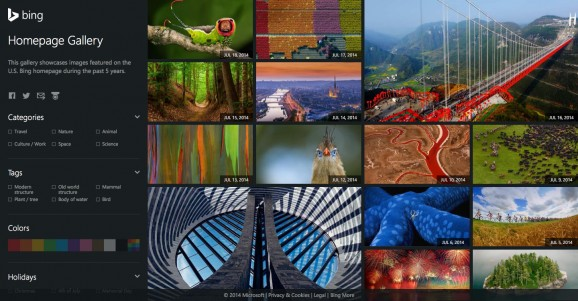 Bing Homepage Gallery 2