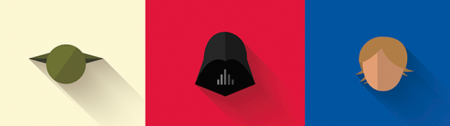 Star Wars Flat Design Icons 1