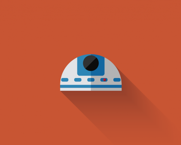 Star Wars Flat Design Icons 8