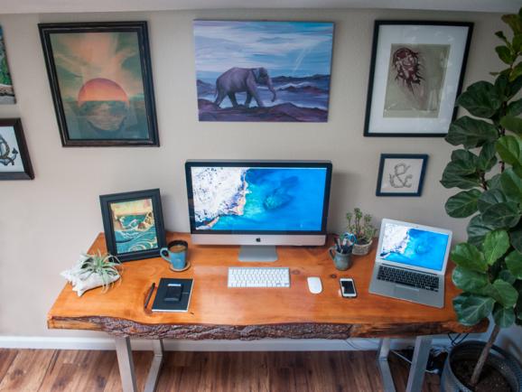 My Home Workspace by Zach Roszczewski