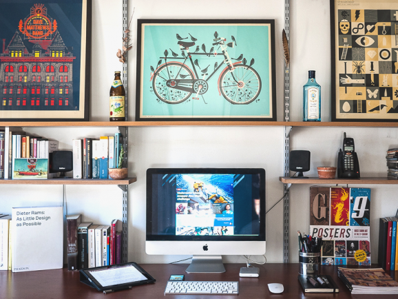 My Workspace by Nicolas Prieto