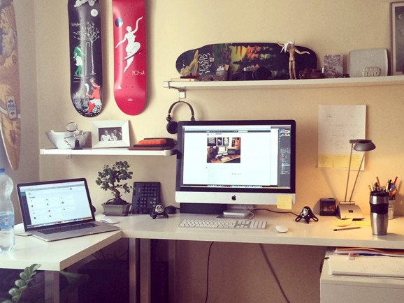 My Workspace by Vincze Istvan