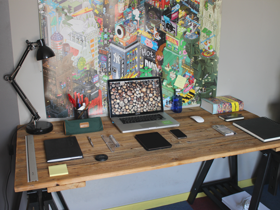 My new workspace by Nicolas Garcia