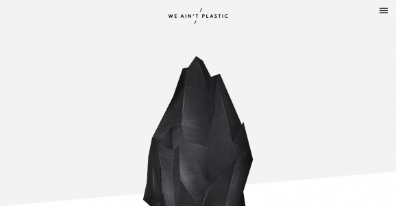 WE AINT PLASTIC