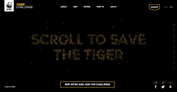 WWF Tiger Challenge